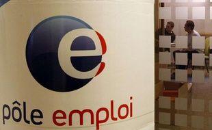 Une agence Pôle emploi à Paris.