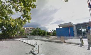 Le lycée professionnel Poinso-Chapuis, situé dans le 8e arrondissement de Marseille.