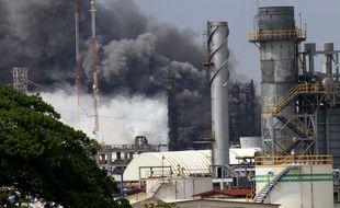 Une explosion a eu lieu le 20 avril dans un complexe pétrolier associé à Pemex, dans l'Etat de Veracruz, à l'est du Mexique