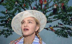 Madonna au Malawi, en juillet 2018.