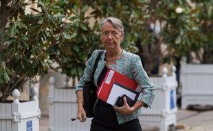 Elisabeth Borne, le 17 août 2020 à Paris.