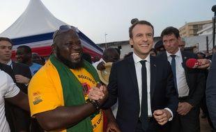 Emmanuel Macron à Accra, Ghana, le 30 novembre 2017.
