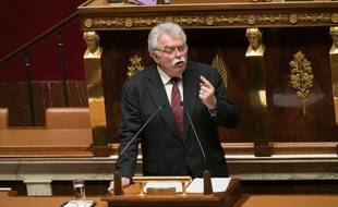 André Chassaigne, le 3 mars 2020 à l'Assemblée nationale.