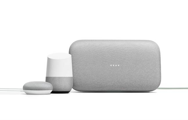 In the family of Google Speakers, I would like to ... the Mini, the House and the Max