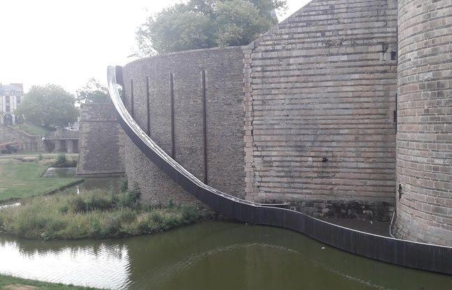Nantes: Des test seront menés aujourd'hui sur le toboggan du château
