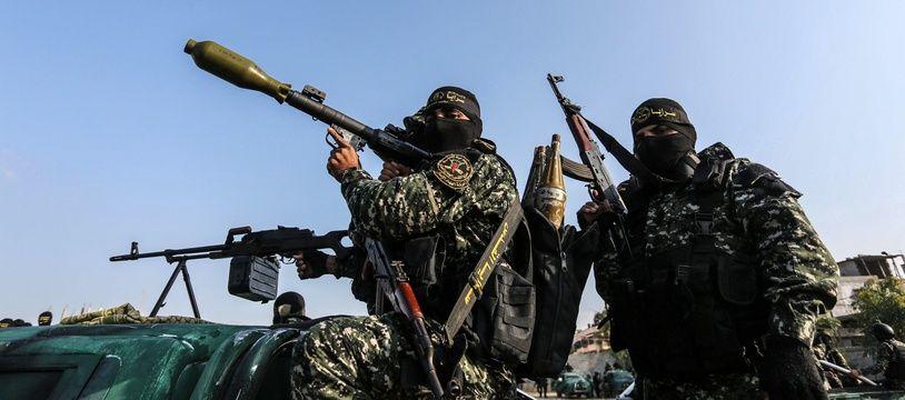 Le 12 novembre, le groupe Jihad islamique a organisé une parade militaire à Gaza.