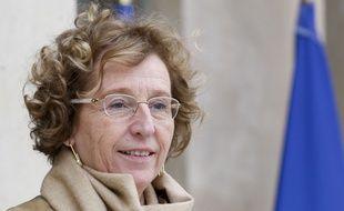 Muriel Pénicaud, la ministre du Travail, photographiée le 20 décembre à l'Elysée.