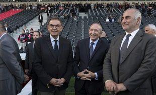 Entre David Kimelfeld (à gauche), président de la Métropole de Lyon et Gérard Collomb, maire de Lyon, les relations sont tendues.