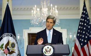 John Kerry s'exprime le 30 août 2013 à Washington