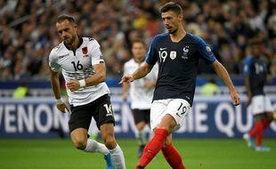 Clément Lenglet face à l'Albanie