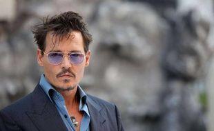 Johnny Depp à la première de LoneRanger àLondres