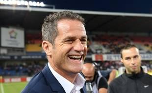 L'entraîneur de Metz Philippe Hinschberger le 24 septembre 2016.