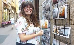 Gaëlle Simon publie une quinzaine de cartes postales avec l'édition Kartoline