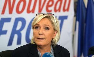 Marine Le Pen à Carpentras le 8 octobre 2017.