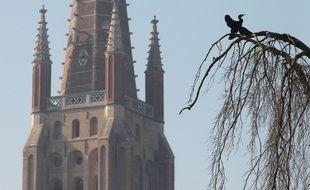 Vue de Bruges, en Belgique.