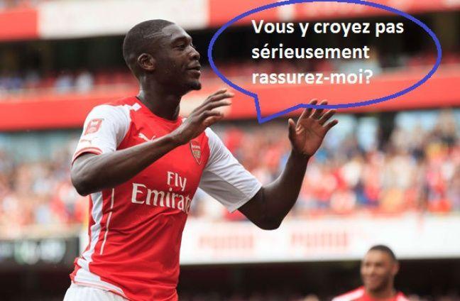 Yaya Sanogo n'a jamais percé avec Arsenal.