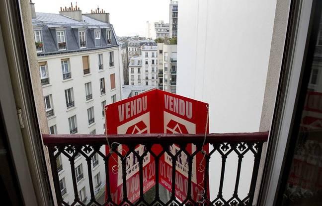 Illustration d'un appartement vendu à Paris (20e), le 17 janvier 2011.
