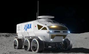 Toyota a imaginé cet engin pour explorer la lune.