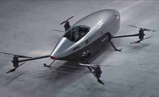 Le Mk3 d'Airspeeder.
