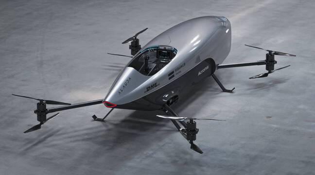 Une voiture de course volante d'Airspeeder a effectué son premier vol d'essai