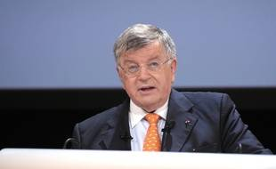 Didier Lombard, le 9 juin 2010 à Paris.