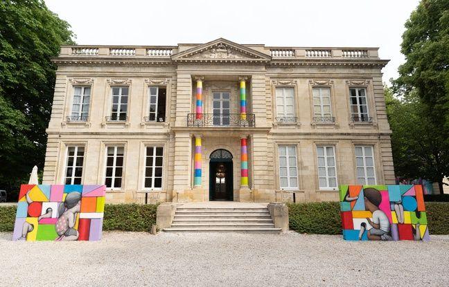 Le château Labottière, un édifice classique du XVIIIe, ouvre désormais ses portes au street art.