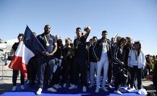 Les sportifs français sont de retour à Paris