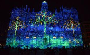 Lors de la Fête des lumières de cette année, à Lyon