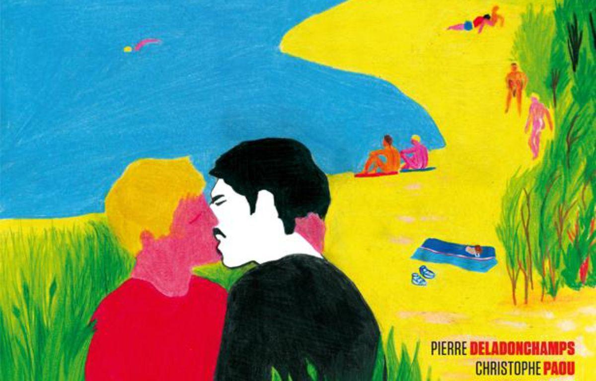 """L'Affiche du film """"L'Inconnu du lac"""" – Tom de Pékin / Les Films du Losange"""