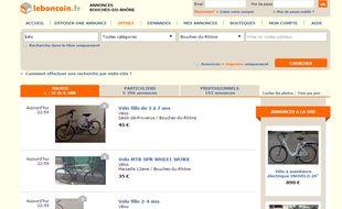 le bon coin la g olocalisation bient t disponible sur le site de petites annonces. Black Bedroom Furniture Sets. Home Design Ideas