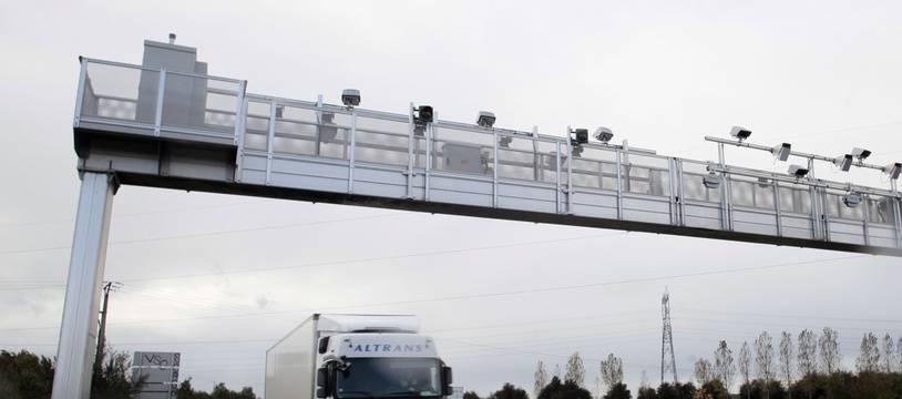Les autorités ont été alertées par le chauffeur du camion (illustration).