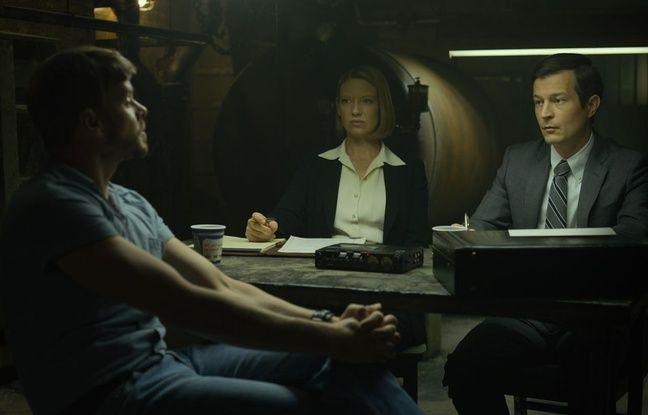 Morgan Kelly, à gauche, incarne Paul Bateson dans la saison 2 de «Mindhunter».