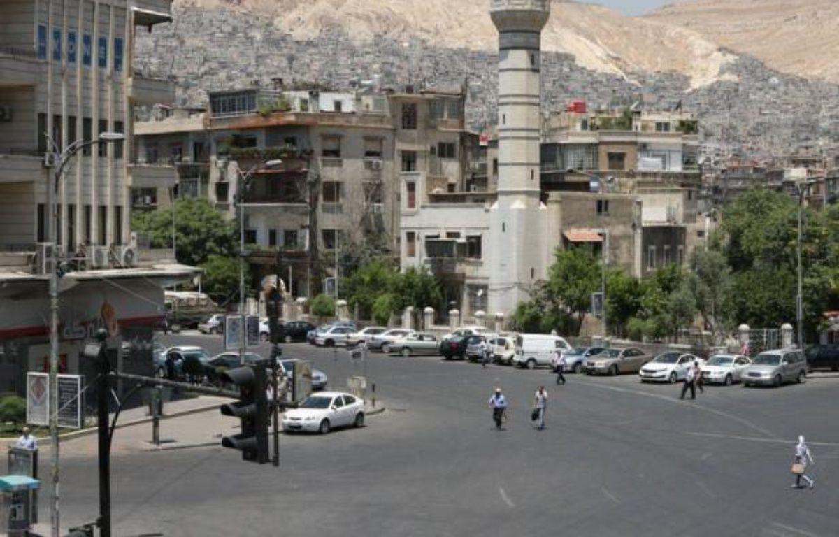 Les rebelles syriens ont annoncé le lancement d'une opération d'envergure contre les forces fidèles au régime, dans une nouvelle escalade du conflit qui a désormais atteint la capitale Damas, toujours en proie à des combats mardi. – Louai Beshara afp.com