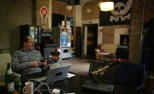 Extrait du documentaire «Une contre-histoire de l'Internet». Andy Müller-Maguhn est un porte-parole du Chaos Computer Club de Berlin dont il est membre depuis 1986.