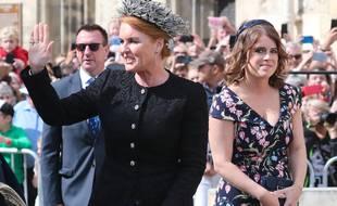 La duchesse d'York, Sarah Ferguson, et sa fille, la princesse Eugenie
