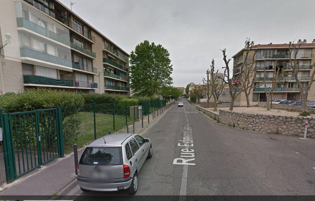 La rue Edmond-Jaloux – Capture d'écran