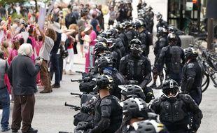 Au total, 5.000 membres des forces de l'ordre ont été déployés pour la convention républicaine qui se tient à Cleveland du 18 au 21 juillet 2016.
