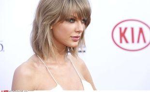 Taylor Swift, le 17 mai 2015, à Las Vegas.