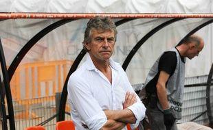 L'entraîneur Christian Gourcuff.
