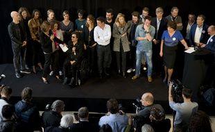 Conférence de presse à l'Institut Pasteur le 7 octobre 2015 en présence de nombreux animateurs partenaires.