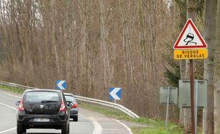 Illustration d'une route nationale.