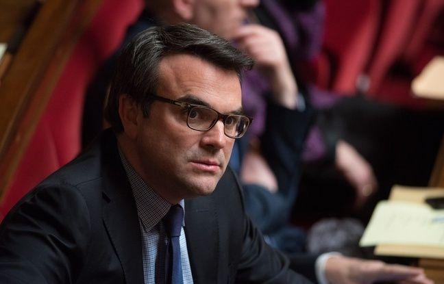 Le député Thomas Thévenoud à l'Assemblée nationale à Paris le 8 mars 2016