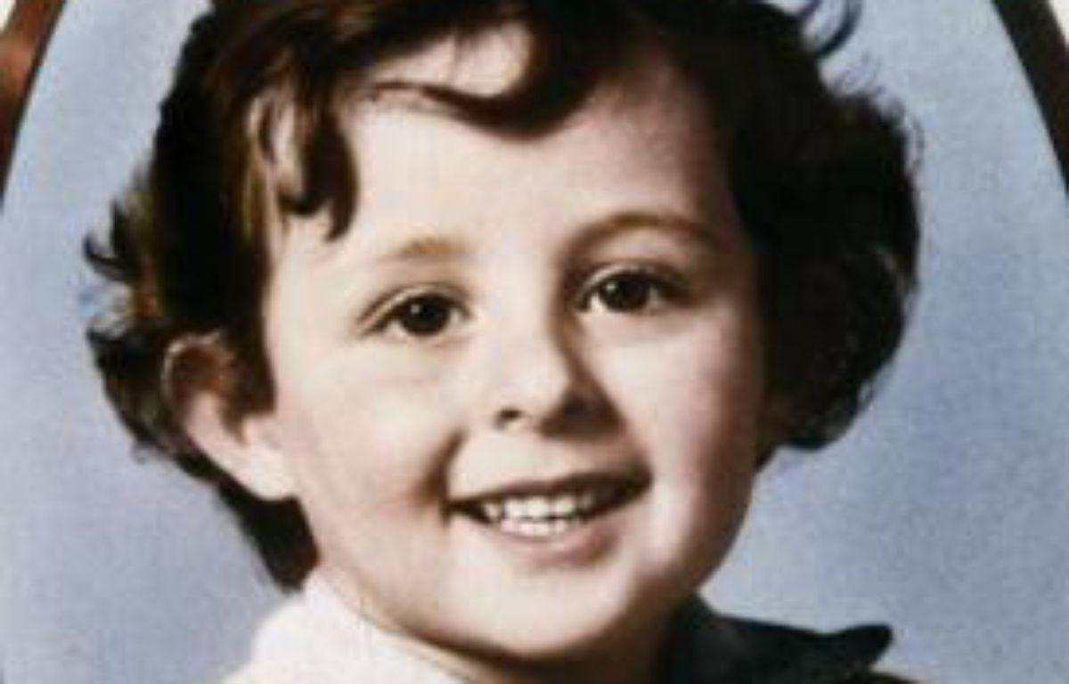 Portrait du petit Grégory Villemin, 4 ans, dont le corps est découvert dans la Vologne le 16 octobre 1984 – Marcel Mochet AFP