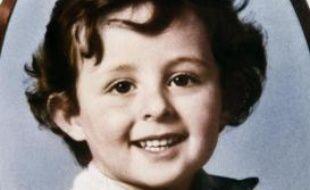 Portrait du petit Grégory Villemin, 4 ans, dont le corps est découvert dans la Vologne le 16 octobre 1984