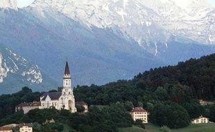La basilique de la Visitation, à Annecy, en 2001.