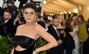 Kylie Jenner à New York.