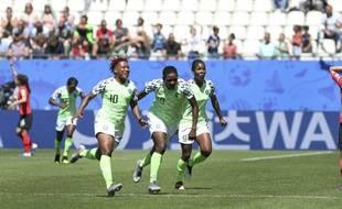 Le Nigeria a battu la Corée du Sud lors de la Coupe du monde féminine, le 12 juin 2019.