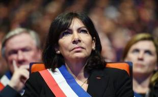 La maire de Paris Anne Hidalgo, le 18 novembre 2015