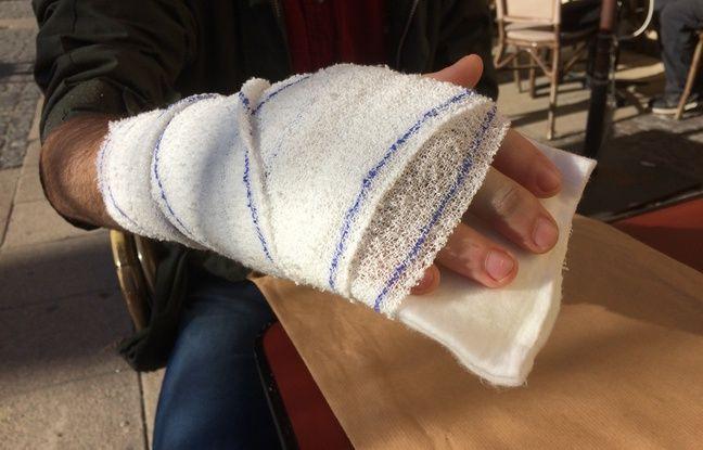 «Gilets jaunes» à Bordeaux: «Je ne suis pas du tout un casseur mais je me suis fait casser la main en manif»