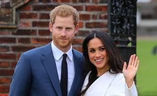 Le Prince Harry et sa fiancée, Meghan Markle